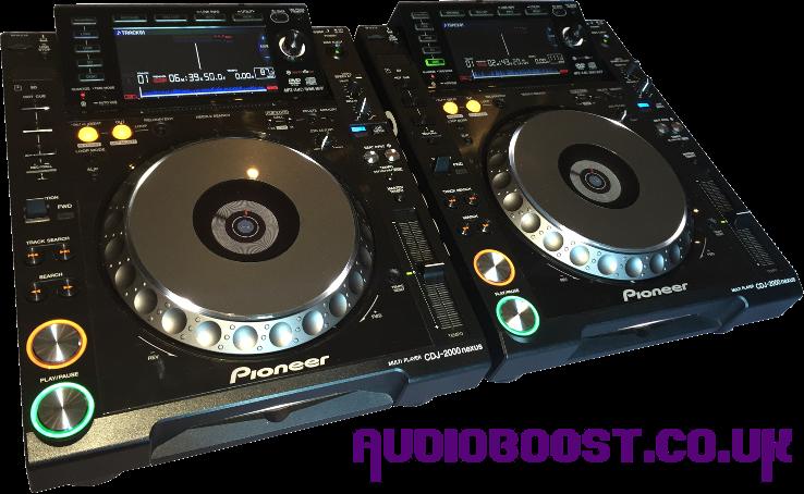 Dj Equipment Audio Boost Ltd
