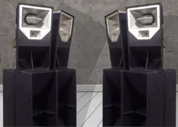 4 x Funktion One Res 2 Speaker Hire Package with 4 x F218