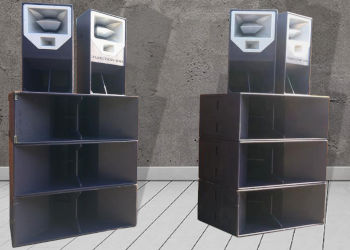 4 x Funktion One Res 2 Speaker Hire Package with 6 x F218