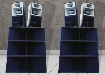 4 x Funktion One Res 4 Speaker Hire Package with 6 x F218