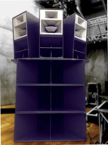 6 x Funktion One Res 2 Speaker Hire Package with 6 x F218