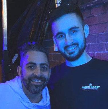 Sound Engineer Adam Ark S with DJ Darius Syrossian 2020
